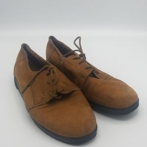 Dr Scholls suede loafers